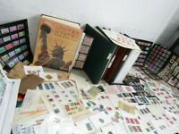NYSTAMPS G THOUSANDS MINT USED OLD US STAMP COLLECTION ALBUM