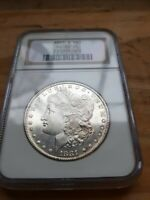 1881 MORGAN SILVER DOLLAR NGC MINT STATE 65 PROOF LIKE