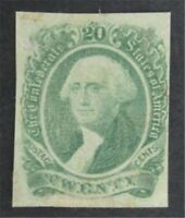 NYSTAMPS US CSA CONFEDERATE STAMP  13 MINT OG H    S10X1306