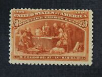 CKSTAMPS: US STAMPS COLLECTION SCOTT239 30C COLUMBIAN MINT H
