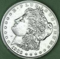 1903 SILVER DOLLAR.   FULL CHEST FEATHERS.   HIGH GRADE   INVENTORY A