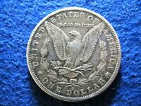 1890 S  MORGAN SILVER DOLLAR - LY TONED EXTRA FINE - A915
