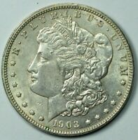 1903 MORGAN SILVER DOLLAR $1 UNC DETAILS MINT STATE MS