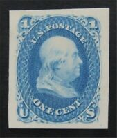 NYSTAMPS US STAMP  63P4 MINT H  S17Y132