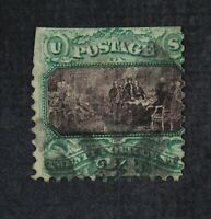 CKSTAMPS: US STAMPS COLLECTION SCOTT120 24C PICTORIAL USED PERFS TRIMMEDD