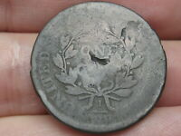 1800-1807 DRAPED BUST LARGE CENT PENNY- SMALL FRACTION, WITH STEMS