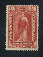 CKSTAMPS: US NEWSPAPER STAMPS COLLECTION SCOTTPR124 MINT H O