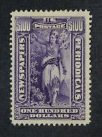 CKSTAMPS: US NEWSPAPER STAMPS COLLECTION SCOTTPR125 MINT H O