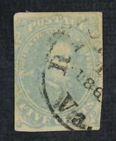 CKSTAMPS: US CUT SQUARE STAMPS COLLECTION CSA SCOTT4 USED TH