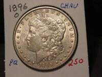 1896-O MORGAN DOLLAR CHOICE AU BETTER DATE  LUSTER COMBINED SHIPPING