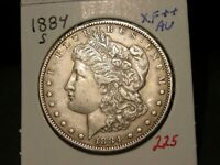 1884-S MORGAN DOLLAR CHOICE EXTRA FINE   AU BETTER DATE  COMBINED SHIPPING