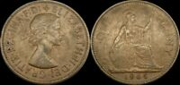 1965 GREAT BRITAIN PENNY UK LARGE PENNY