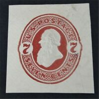 NYSTAMPS US CUT SQUARE STAMP  U186 MINT $150       S24Y912