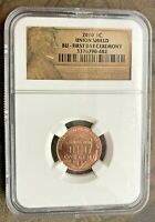 2010 NGC UNION SHIELD BU   FIRST DAY CEREMONY LINCOLN CENT