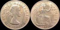1967 GREAT BRITAIN PENNY UK LARGE PENNY   671
