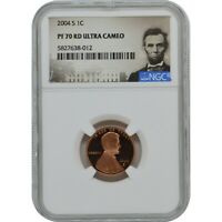 2004 S LINCOLN PENNY PROOF COIN NGC PF70 ULTRA CAMEO LINCOLN