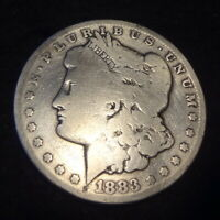 1883-CC MORGAN SILVER DOLLAR - SOLID GOOD G DETAILS FROM THE CARSON CITY MINT