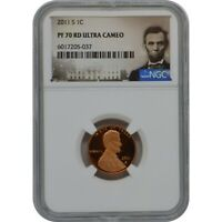 2011 S LINCOLN PENNY PROOF COIN NGC PF70 ULTRA CAMEO LINCOLN