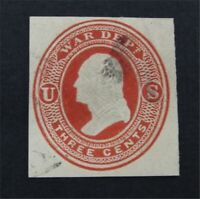 NYSTAMPS US CUT SQUARE STAMP  UO20 USED   O22Y890