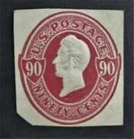 NYSTAMPS US CUT SQUARE STAMP  U211 MH    O22Y904