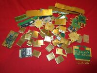 LOT OF 12.31OZ HIGH GRADE GOLD PLATED PCB BOARDS/CONNECTORS FOR SCRAP GOLD