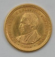 1904 GOLD ONE DOLLAR LEWIS AND CLARK COMMEMORATIVE /L58