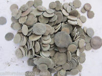 50  AGRON   ANCIENT ROMAN COINS WITH MIX OF OTHERS   SMALLER IN SIZE THAN OTHERS