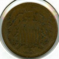 1865 2 CENT COIN AA343