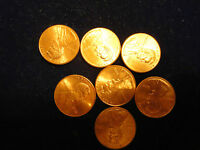 7   2002  RED  LINCOLN  CENTS.NICE