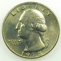 1978 UNCIRCULATED WASHINGTON QUARTER BU B01