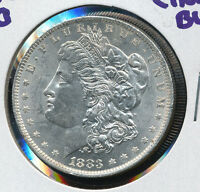 1883 O MORGAN SILVER DOLLAR CHOICE BU NICE DEAL DOM4032