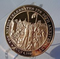 1826 UNITED STATES 50TH ANNIVERSARY CELEBRATION   SOLID BRONZE MEDAL