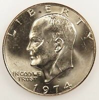 1974 D UNCIRCULATED EISENHOWER DOLLAR B02
