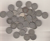 LIBERTY NICKELS   V TYPES  1900'S FULL RIM ROLL OF 40 COINS