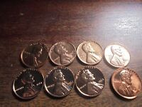1961,TO 1964 LINCOLN CENT BU  PROOF  1961D TO 1964D UNC. LINCOLN CENTS L6886