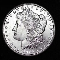 1887-S MORGAN DOLLAR CHOICE BU SHIPS FREE E367 CEM