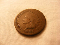 INDIAN HEAD PENNY   1884   NICE CIRCULATED CONDITION   MUST SEE