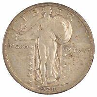 1928 STANDING LIBERTY QUARTER DOLLAR /J1795