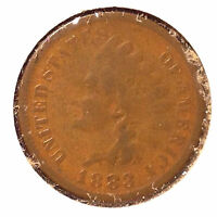 1883 1C INDIAN CENT AUTO. COMBINED SHIPPING]24112