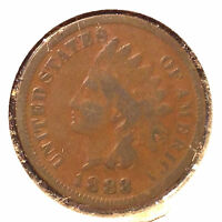 1883 1C INDIAN CENT AUTO. COMBINED SHIPPING]24115
