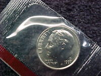 1997 D   ROOSEVELT DIME FROM MINT SET BU