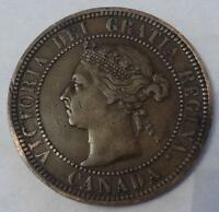 1888 CANADA LARGE CENT REPUNCHED 8'S IN DATE NICE DETAILS
