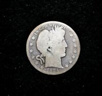 1894 P BARBER HALF DOLLARFREE S/H
