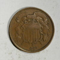 1864  US TWO CENTS   D