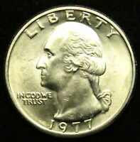 1977 UNCIRCULATED WASHINGTON QUARTER BU B03