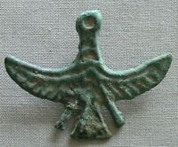 VERY  ORDOS LATE BRONZE AGE C. 1600 1200BC WIDE GOOSE MONEY