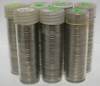 1981 & 1984 1989 P JEFFERSON NICKELS 7 UNCIRCULATED ROLLS   J5C JR916