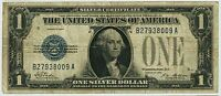 SERIES 1928 $1.00 ONE DOLLAR SILVER CERTIFICATE FUNNY BACK NOTE FR 1600   8009A