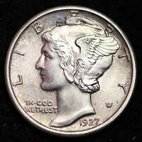 1927 MERCURY DIME CHOICE BU FB  E336 EE
