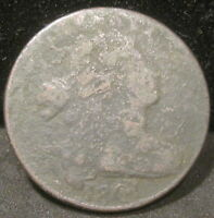 1801 DRAPED BUST LARGE CENT   LOW GRADE K166